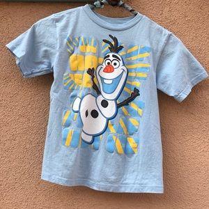Disney Shirts & Tops - Olaf DISNEY Kid's Graphic T-Shirt Boys